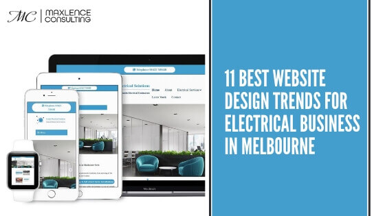 website tips for electrician