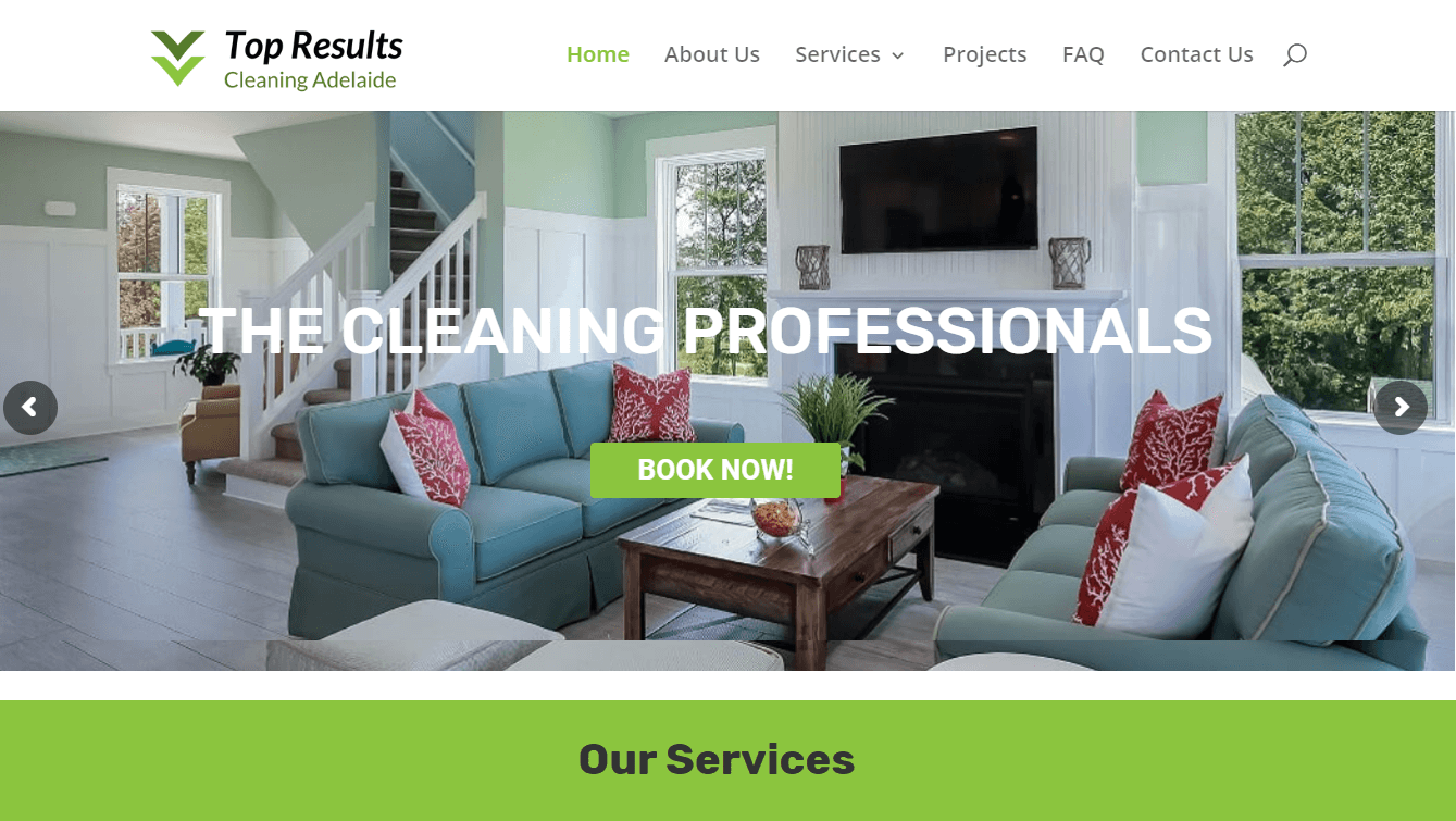Seo agency for cleaning services at adelaide