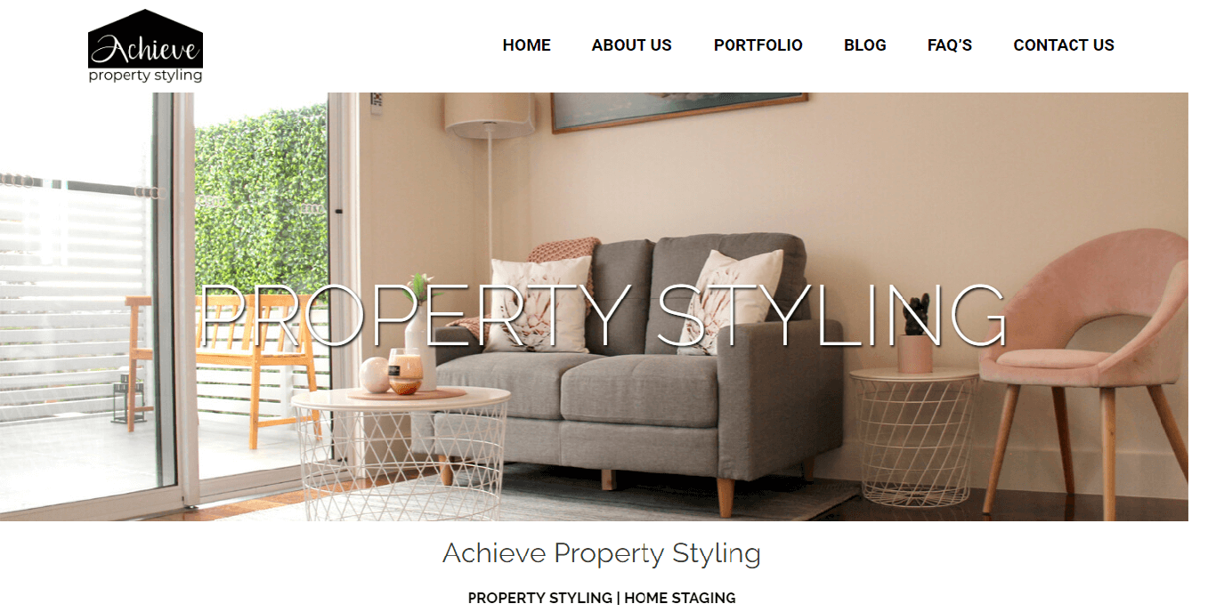 digital marketing firm for property and styling services