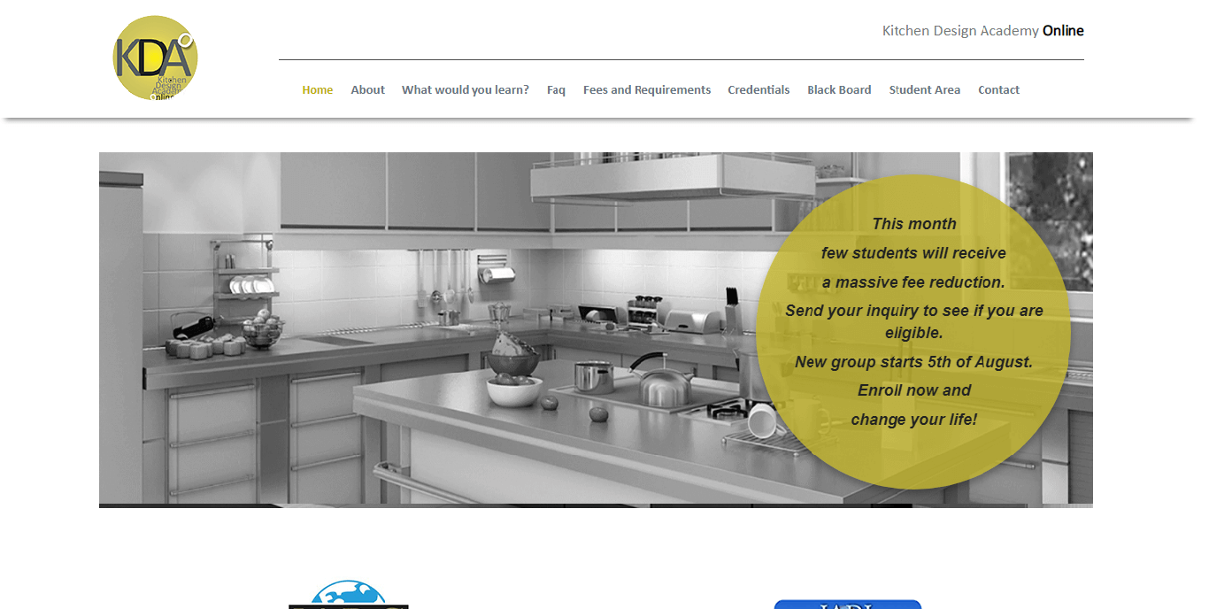 SMO company for online kitchen design academy