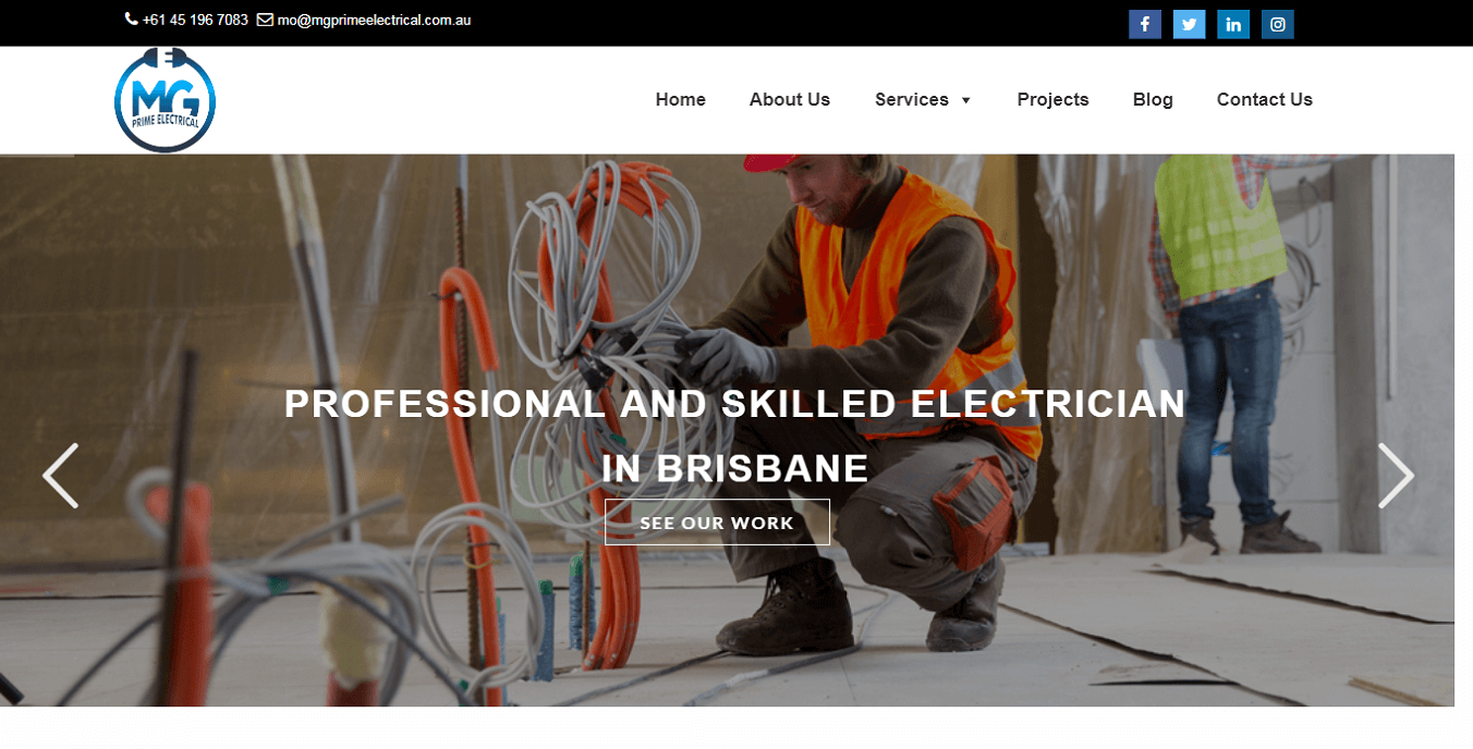 SEO firm for electrical services at brisbane